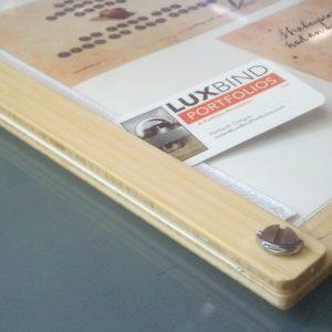 Natural bamboo clamp version