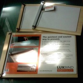 LuxBind Portfolios kit versions